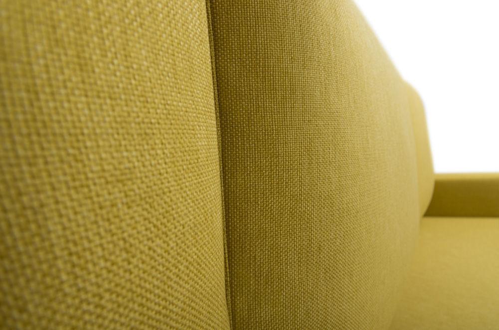 Диван Woodcraft Порту Textile Yellow - фото 11