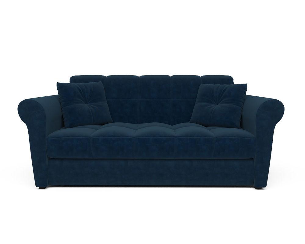 Диван Мебель-АРС Гранд (темно-синий - Luna 034) - фото 2
