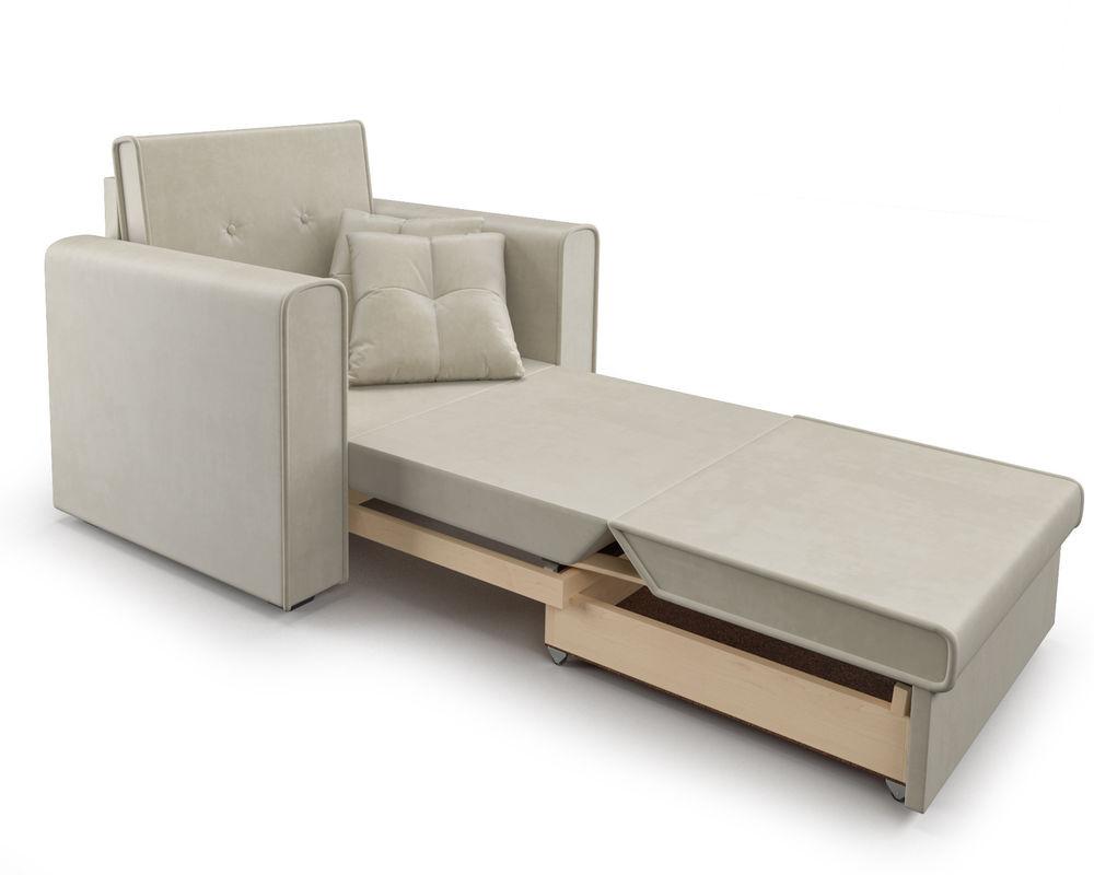 Кресло Мебель-АРС Санта (бархат бежевый) - фото 8