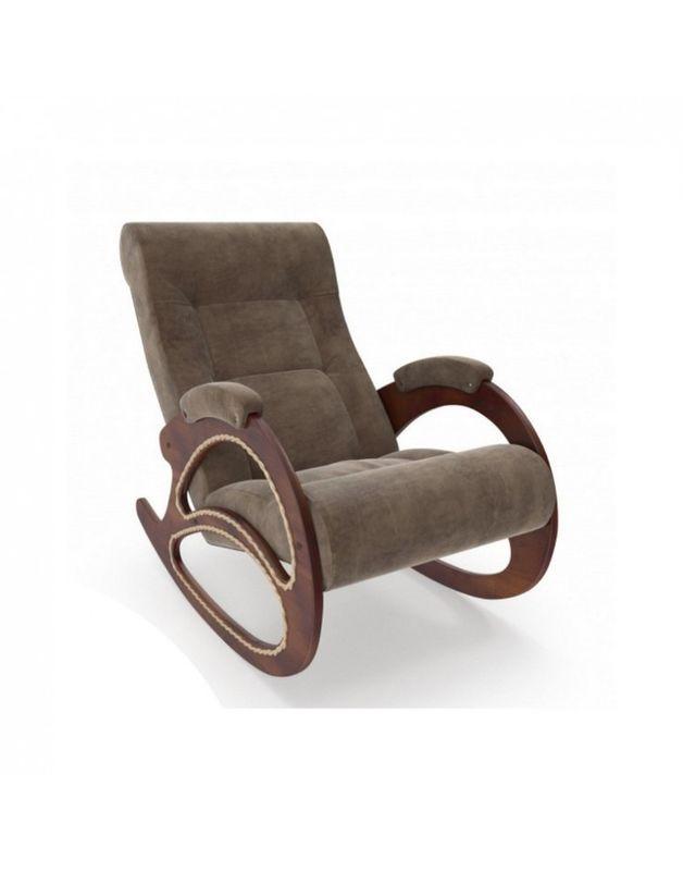 Кресло Impex Модель 4 Verona орех (light grey) - фото 2