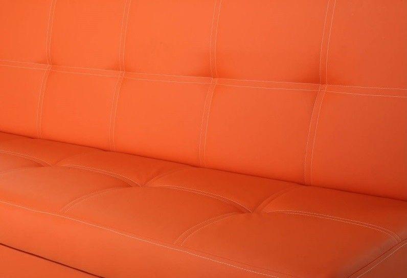 Диван Moon Trade Бомонд оранжевый - фото 6