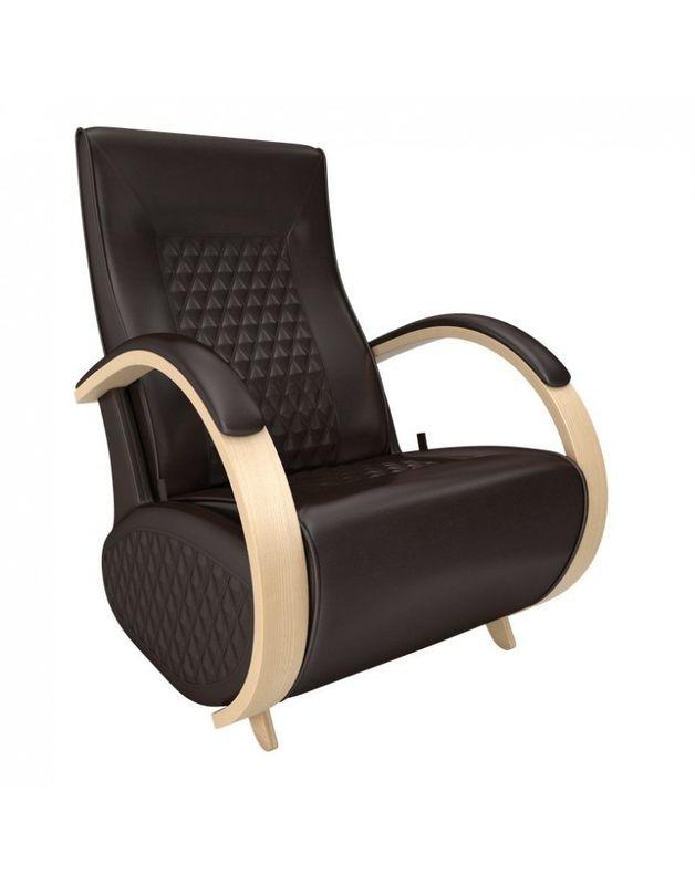 Кресло Impex Balance-3 экокожа натуральный (oregon 120) - фото 1