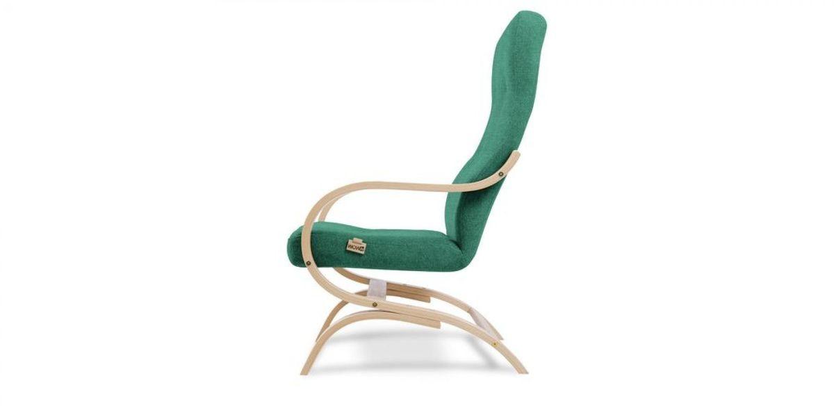Кресло WOWIN Вейв (Бирюзово-голубая микророгожка) - фото 3