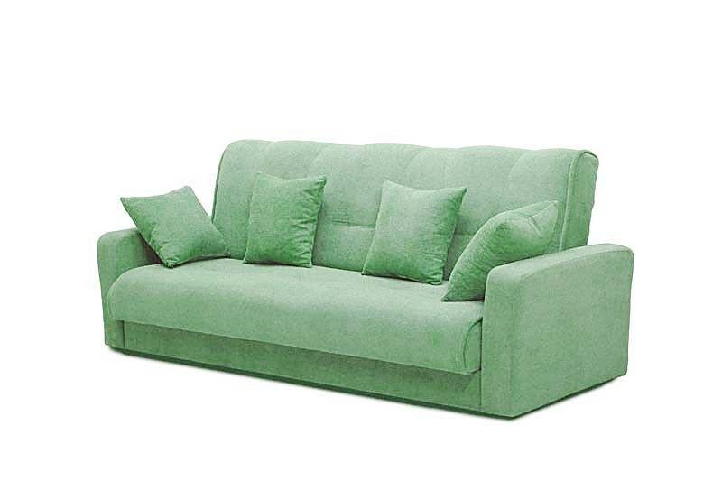 Диван Луховицкая мебельная фабрика Милан 120х190 гобелен/шенилл зеленый - фото 2