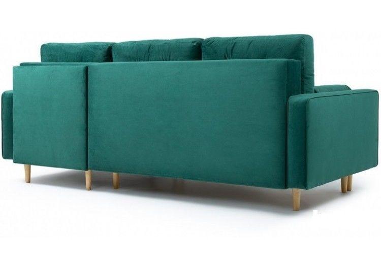 Диван Craftmebel Ситено угловой (вельвет зеленый) - фото 3