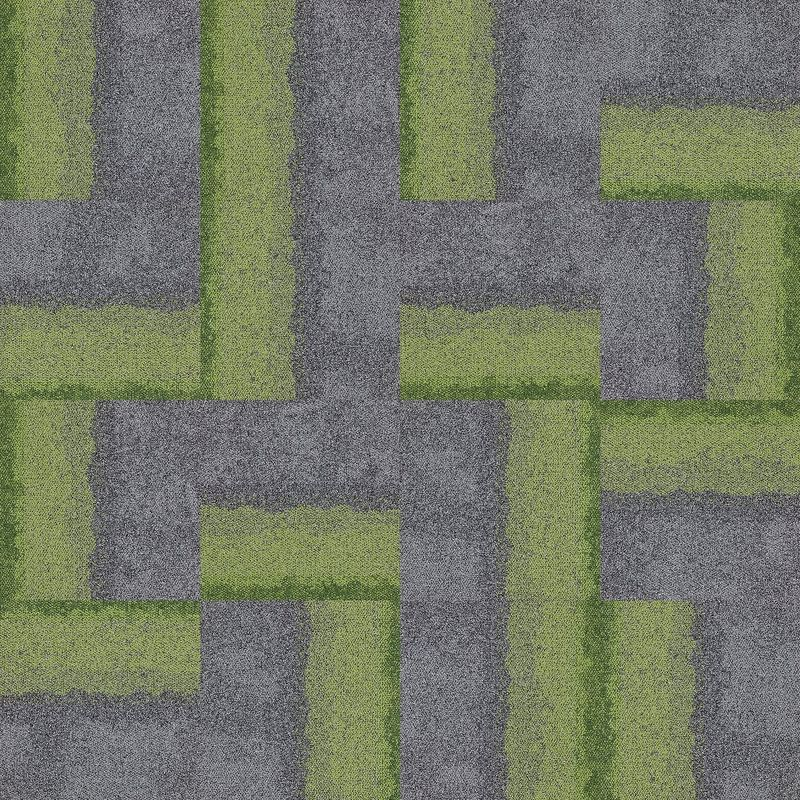 Ковровое покрытие Interface Composure Edge 4274003 Olive/Seclusio - фото 2