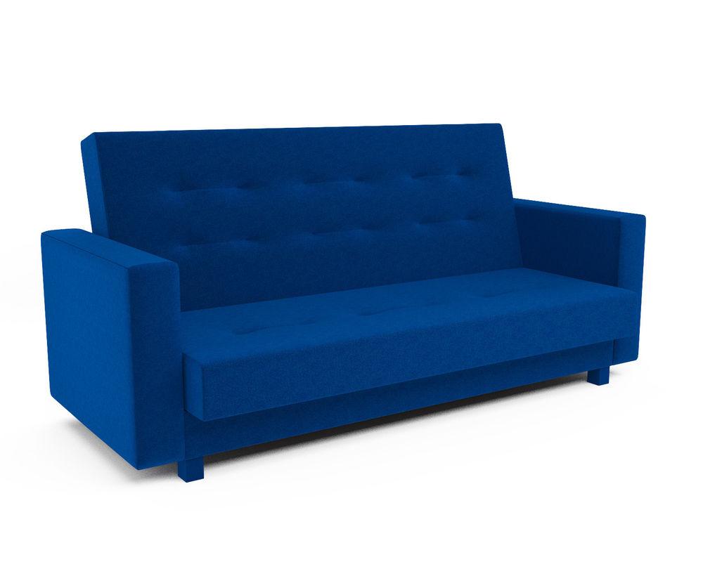 Диван Мебель-АРС Лофт (астра синяя) - фото 1