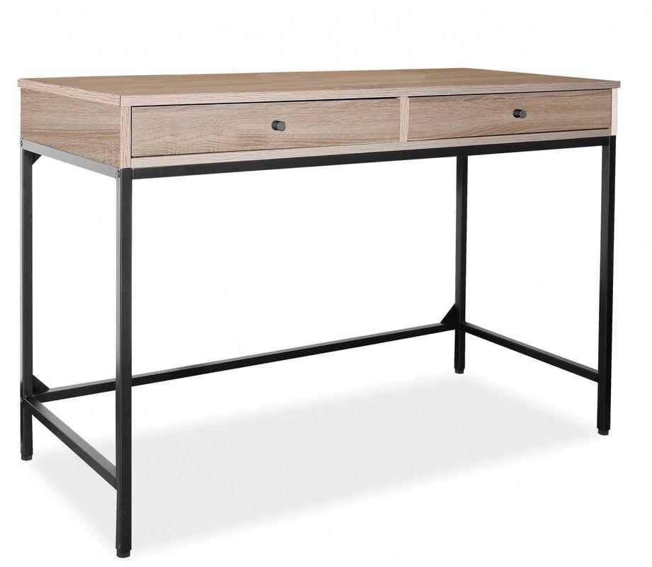 Письменный стол Signal B-187 (дуб/черный) - фото 1