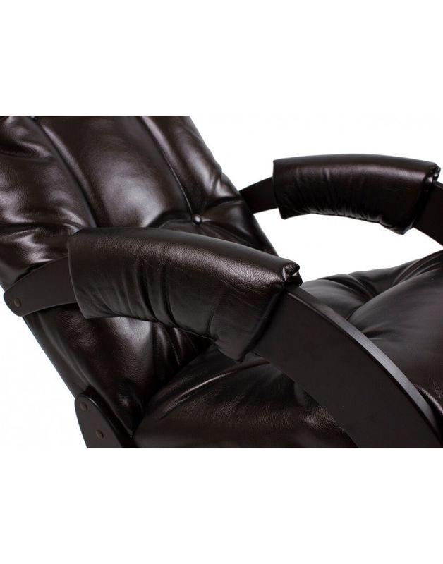 Кресло Impex Модель 67 Экокожа (Vegas lite amber) - фото 4