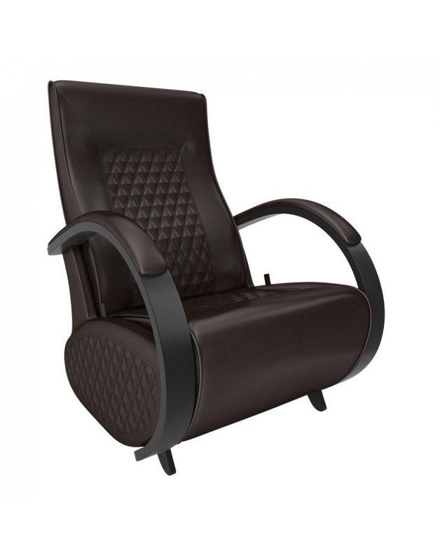 Кресло Impex Balance-3 экокожа (vegas lite black) - фото 4