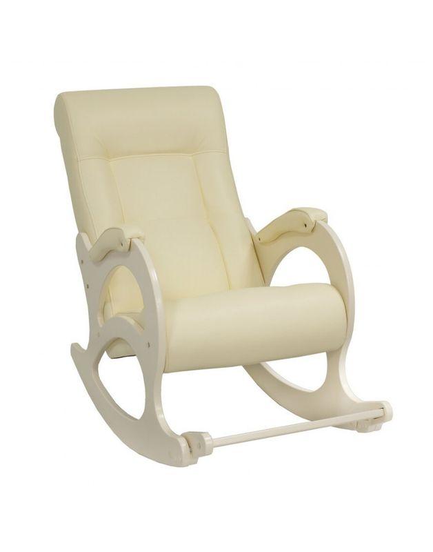 Кресло Impex Модель 44 б/л сливочный экокожа (dundi 112) - фото 1
