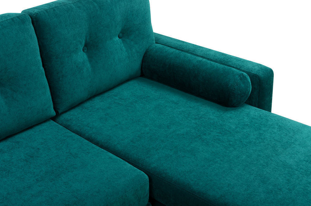 Диван Woodcraft Динс Velvet Угловой Emerald - фото 8