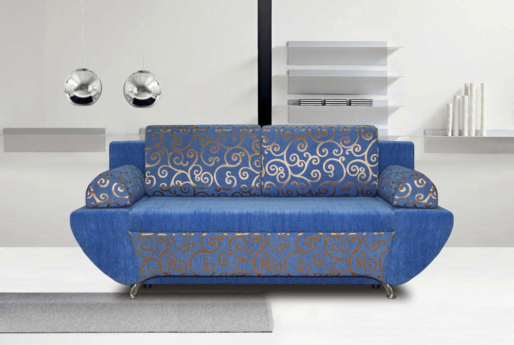 Диван Tiolly Кэт (синий) - фото 1