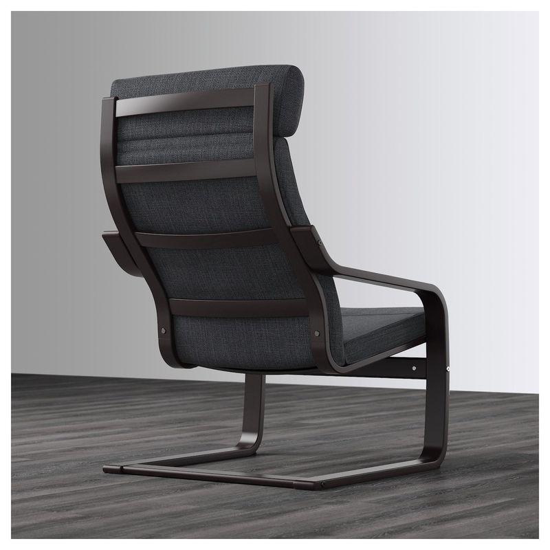 Кресло IKEA Поэнг 292.514.94 - фото 4