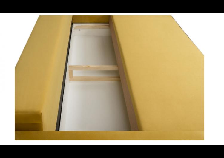 Диван Craftmebel Менли (вельвет желтый) - фото 4