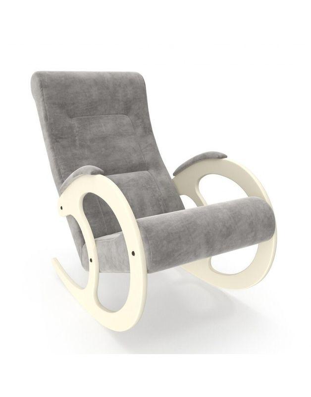 Кресло Impex Модель 3 Verona сливочный (Antrazite grey) - фото 2