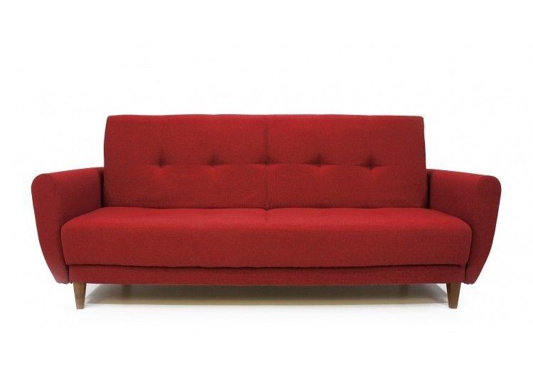 Диван Луховицкая мебельная фабрика Сканди красный - фото 1