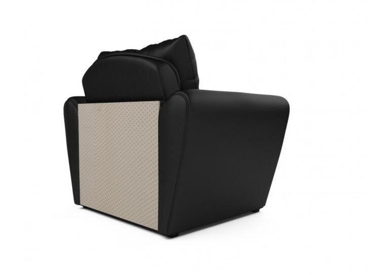 Кресло Craftmebel Квартет - экокожа черная - фото 5