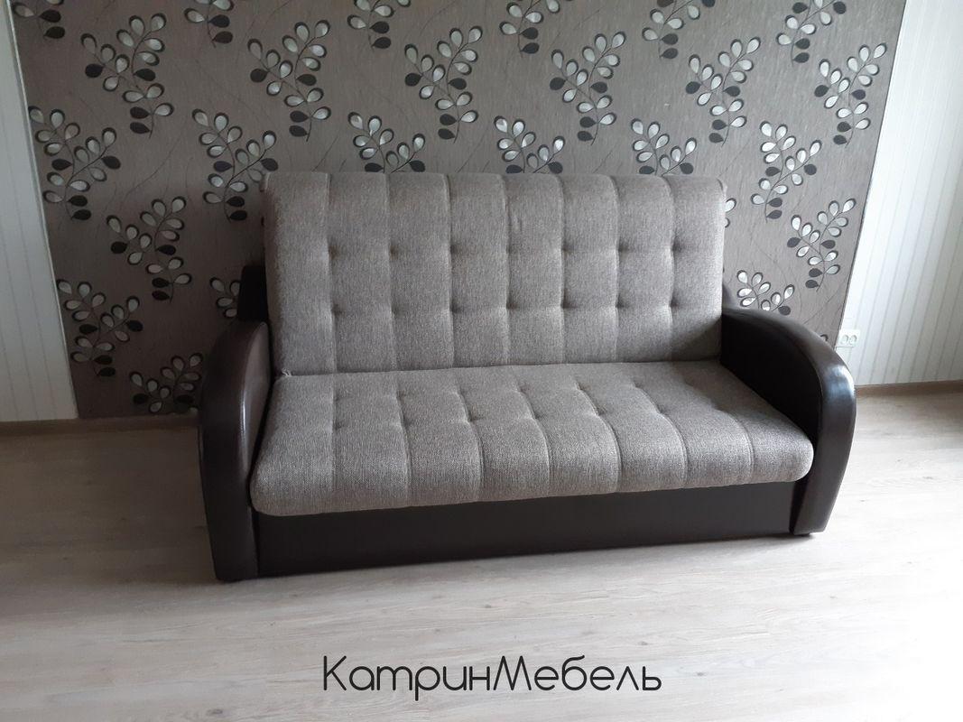 Диван DM-мебель Эврика (3М, серый/черный) - фото 1