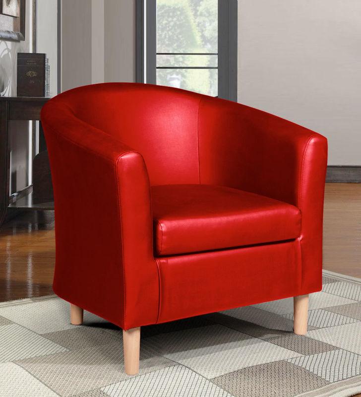 Кресло ZMF Эльф (красный) - фото 1