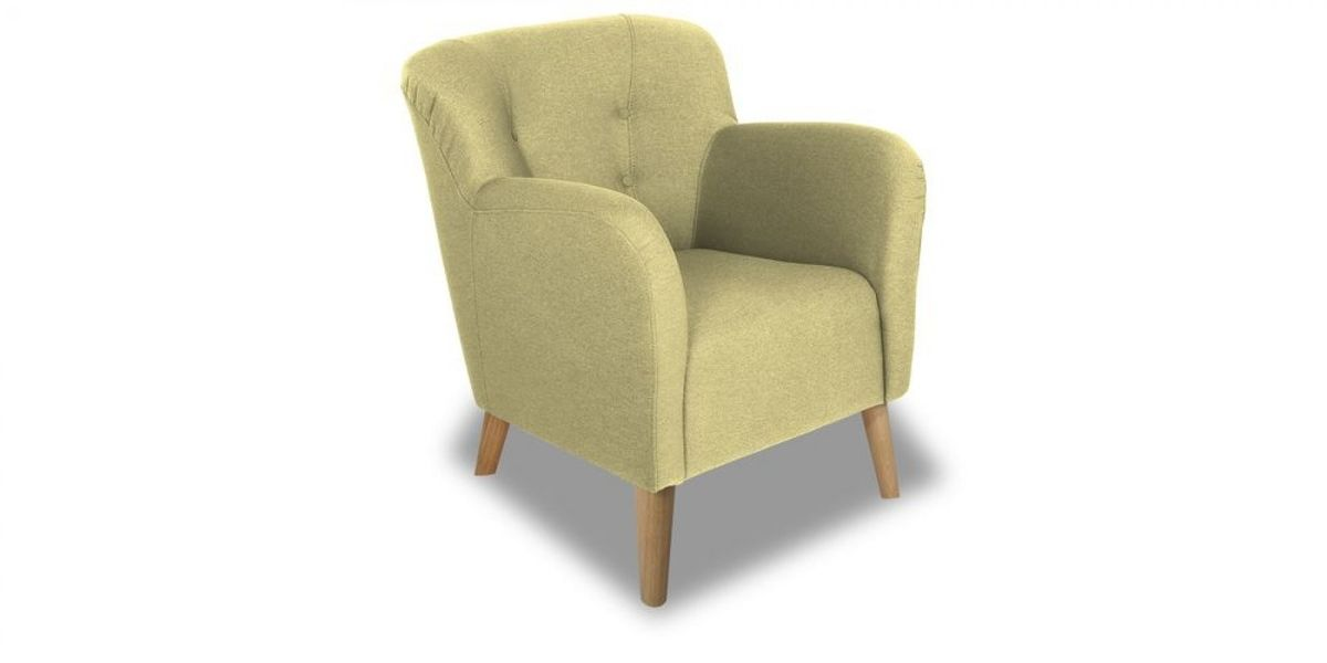 Кресло WOWIN Ингрид (Арахисовая рогожка) - фото 1