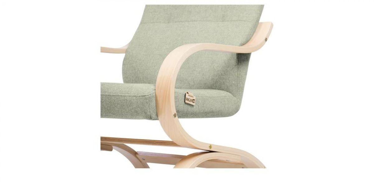 Кресло WOWIN Вейв (Платиновый велюр) - фото 4