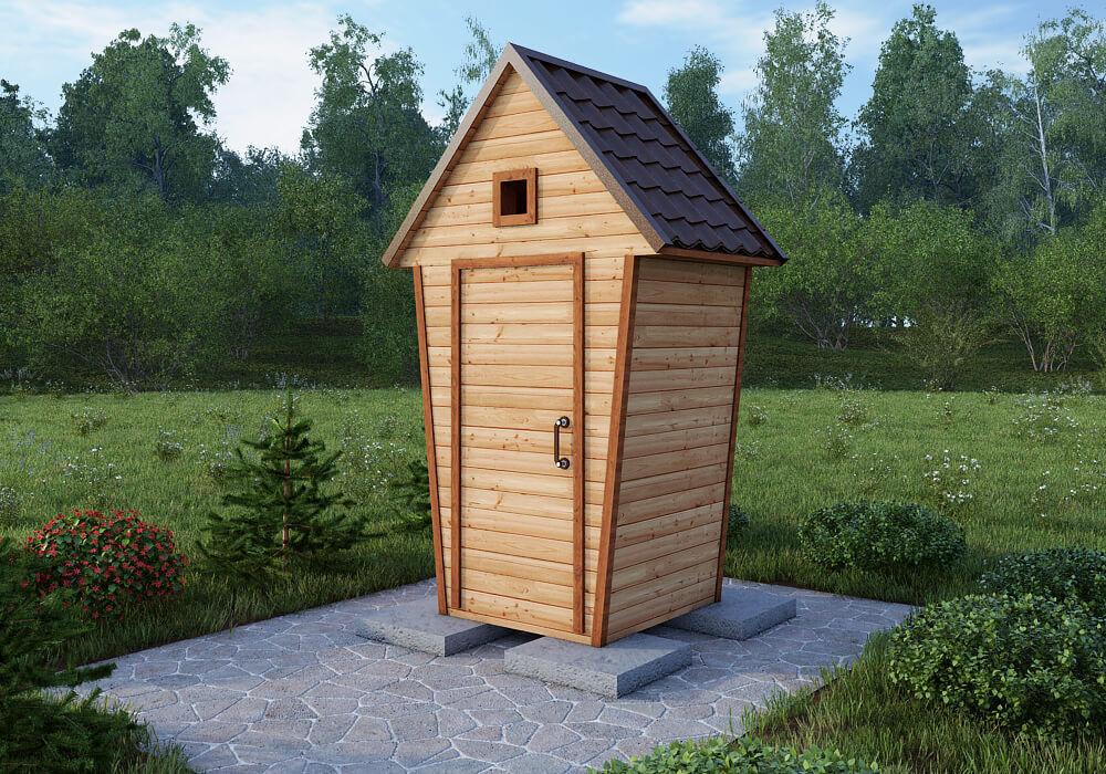 БелДревМонтаж Туалет 1х1 - фото 1