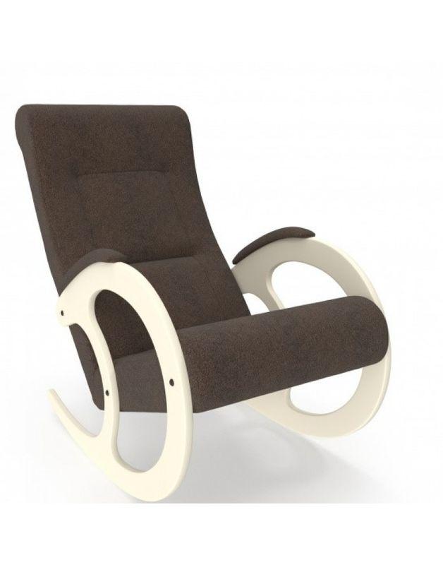 Кресло Impex Модель 3 сливочный (Мальта 15) - фото 5
