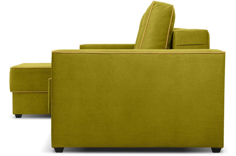 Диван Woodcraft Менли угловой НПБ Velvet Lime - фото 3