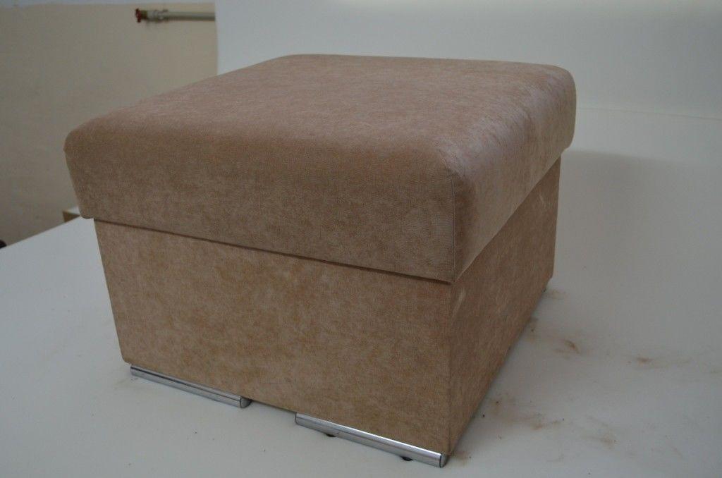 Пуфик Вливск-Мебель 60х60 см с нишей для хранения - фото 5