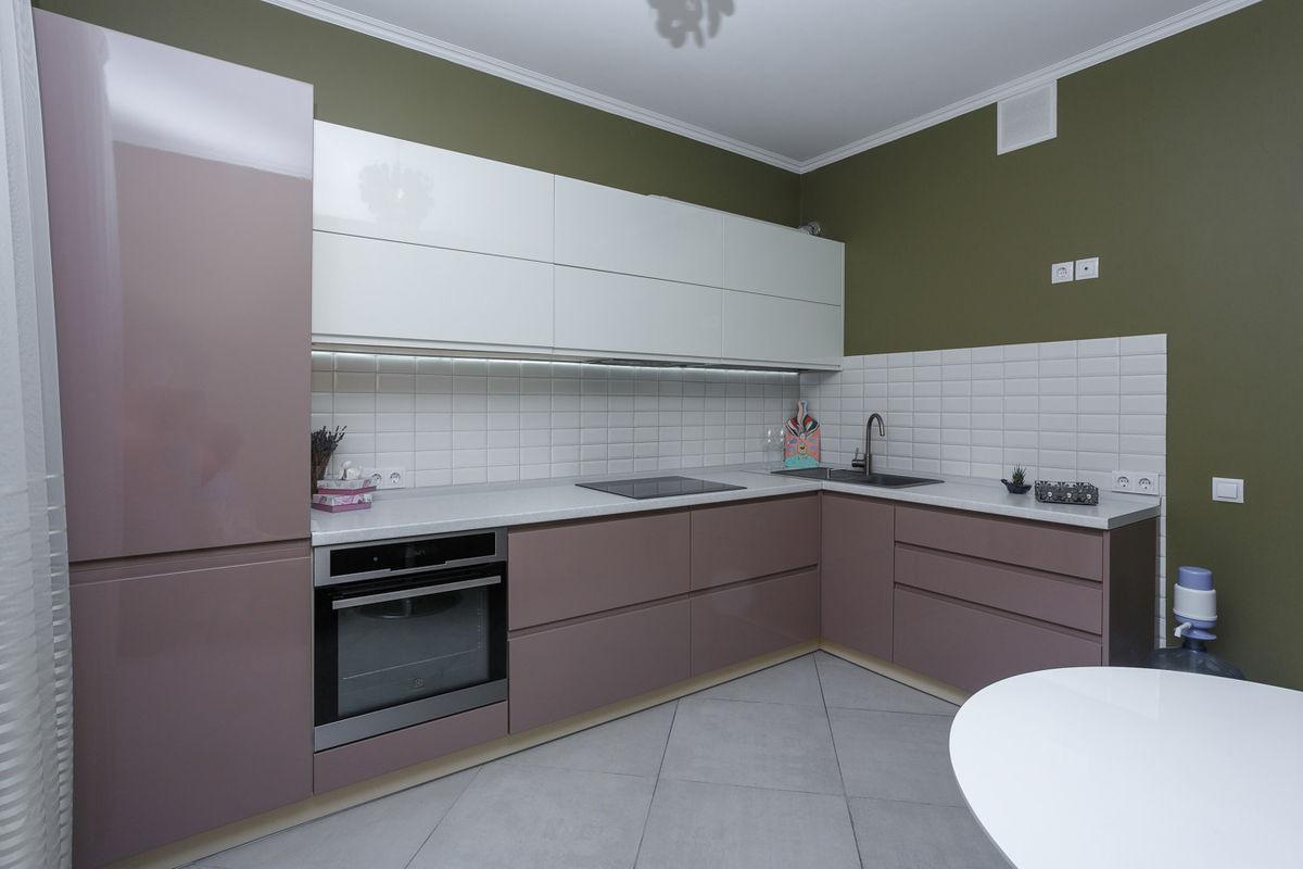 Кухня AlvaLine Breeze (кофе с молоком) - фото 1