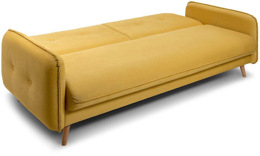 Диван Woodcraft Стаус Velvet Yellow - фото 5