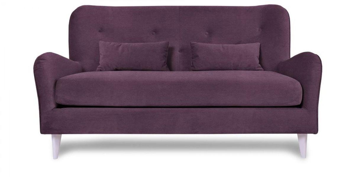 Диван WOWIN Амели Темно-фиолетовый велюр (2.5-местный) - фото 2