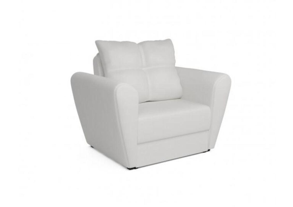 Кресло Craftmebel Квартет - экокожа белая - фото 1