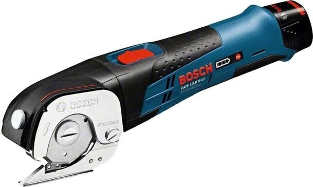 Ножницы по металлу Bosch GUS 10,8 V-LI Professional (0.601.9B2.904) - фото 1