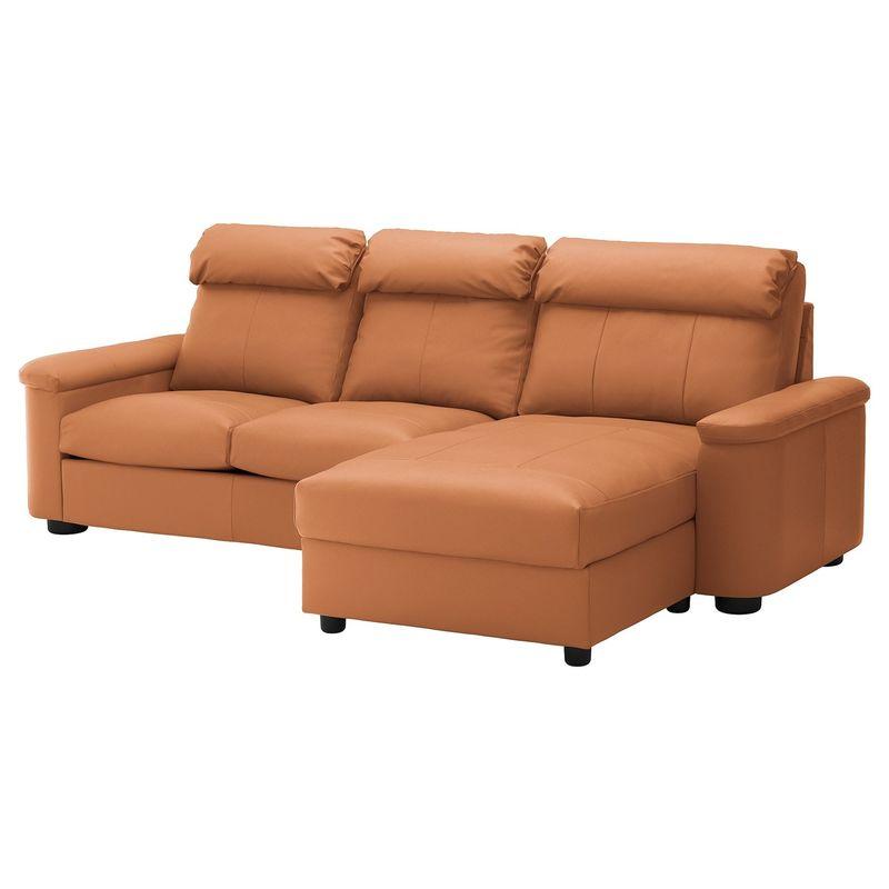 Диван IKEA Лидгульт золотисто-коричневый [692.660.83] - фото 1