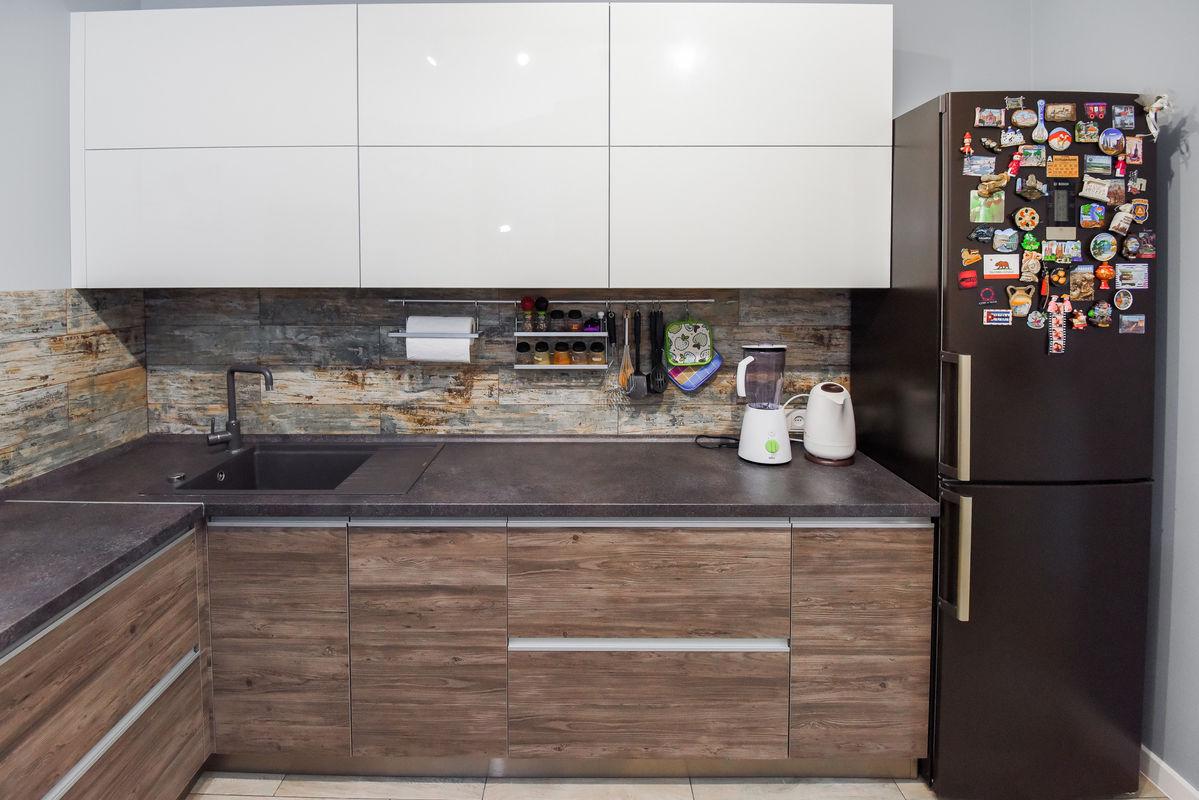Кухня Шеф кухни из акрила и CLEAF - фото 17