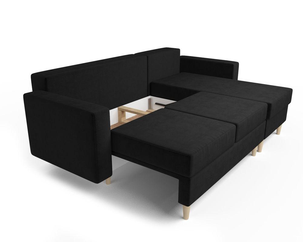 Диван Мебель-АРС Белфаст (велюр черный / НВ-178/17) - фото 6