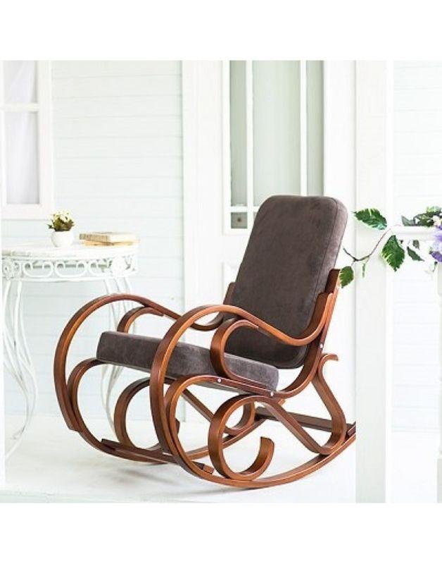 Кресло Impex Луиза вишня (шоколад) - фото 1