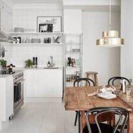 Собираем интерьер светлой кухни с картинки своими силами