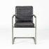 Кресло LORI Бергамо (кожзам/ткань) с подлокотниками - фото 2