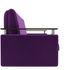 Диван Мебель-АРС Шарм — Фиолет (120х195) - фото 3