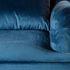 Кресло Garda Decor 24YJ-7004-06466/1 (велюровое синее с подушкой) - фото 3