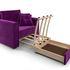 Кресло Мебель-АРС Санта фиолет (микровельвет) - фото 7