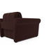 Кресло Мебель-АРС Гранд коричневый микровелюр (Luna 092) - фото 4