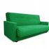 Диван Луховицкая мебельная фабрика Милан (Астра зеленый) пружинный 120x190 - фото 2