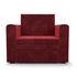 Кресло Мебель-АРС Санта (бархат красный) - фото 3