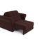 Кресло Мебель-АРС Гранд коричневый микровелюр (Luna 092) - фото 5