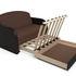 Диван Мебель-АРС Малютка (рогожка шоколад) - фото 6