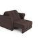 Кресло Мебель-АРС Гранд молочный шоколад велюр (НВ-178/13) - фото 5